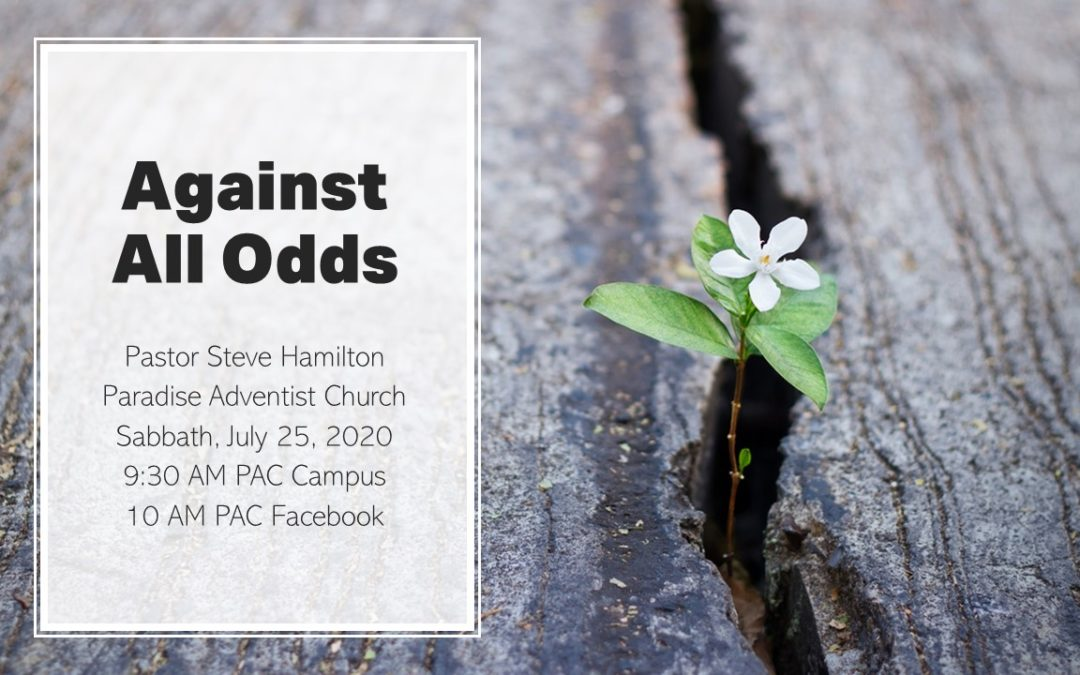 Against All Odds | August 1 Worship Service