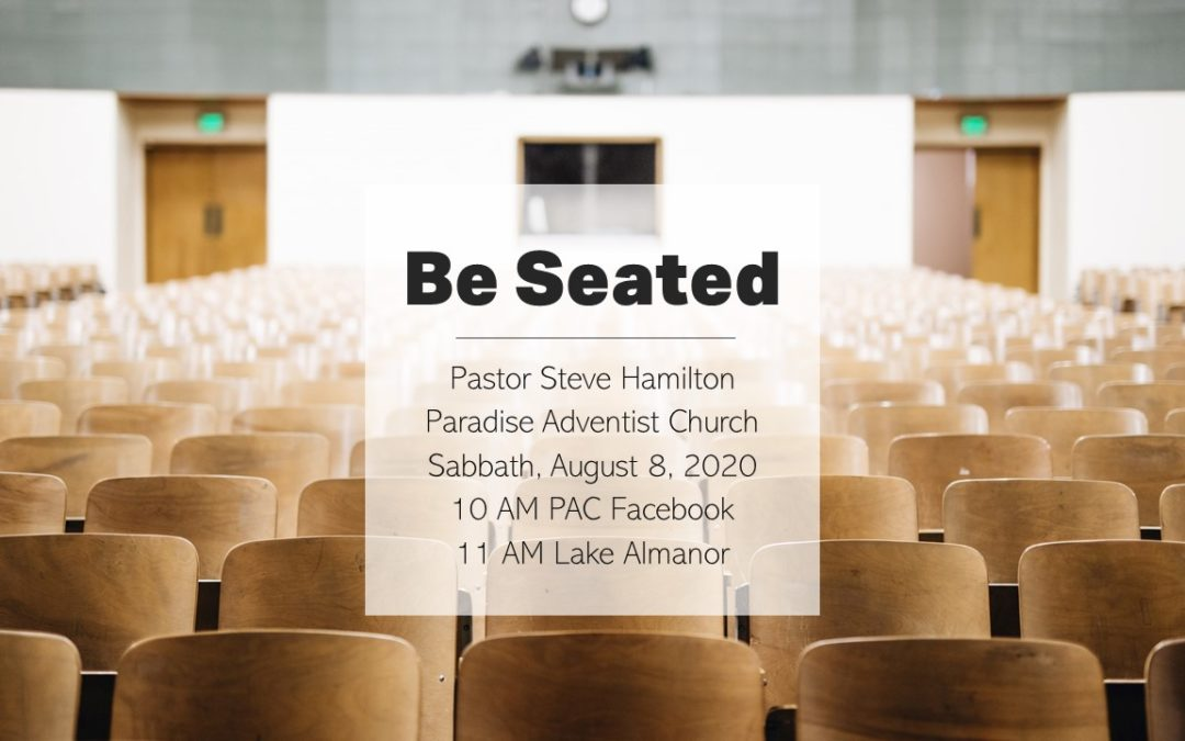 Be Seated | August 8 Worship Service by the Lake