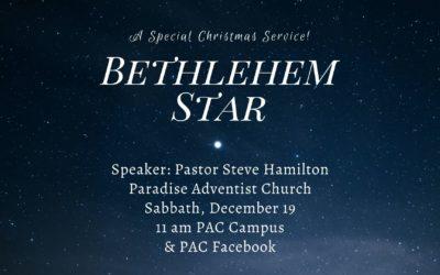 Bethlehem Star | December 19 Worship Service